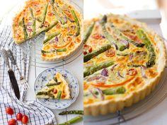 Spargel-Gemüse-Quiche