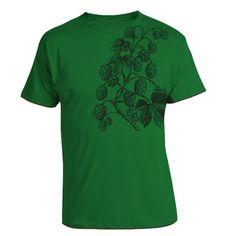 Hops Vine Kelly Green Graphic Tee