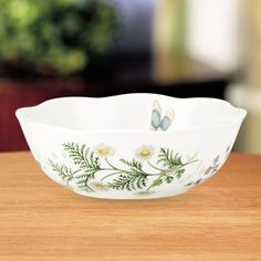 Lenox Erfly Meadow Herbs All Purpose Bowl