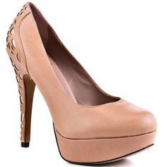 Vince Camuto Morning Stiletto Heels Womens Beige Leather - ONLY $129.99.