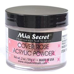 Mia Secret Cover Rose Acrylic Powder 2 Oz >>> You can find more details by visiting the image link.