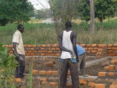 Starting the foundation for the classrooms. Uganda, Photo Galleries, Foundation, College, University, Foundation Series, Colleges
