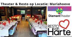 11 Okt - Theater & Resto op Locatie - Resto VanHarte en het DiamantTheater - http://www.wijkmariahoeve.nl/diamanttheater-resto-van-harte/