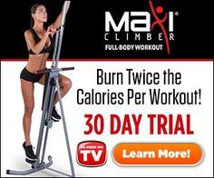 9477647fd3 Get a Full Body Workout and Order the MaxiClimber System Today! Comes with  a 30