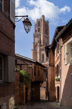 Cathédrale Sainte-Cécile, Albi, Tarn Sainte Cecile, Fontainebleau, France Photography, Beaux Villages, Architecture Old, France Travel, Beautiful Places, Places To Visit, Castle