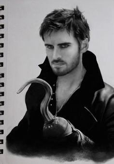 Killian Jones, Captain Hook by DominiqueWesson.deviantart.com