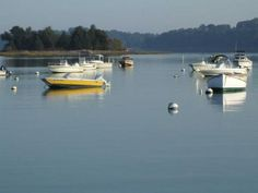 peaceful day on Hingham Harbor