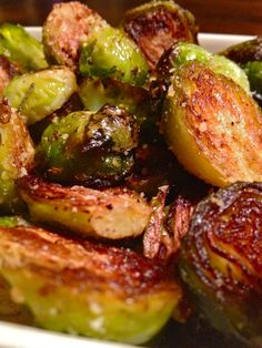 Roasted Brussels Sprouts with Rosemary, Lemon & Pecorino. Nigellissima