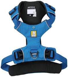 Amazon.com : Ruffwear - Front Range No-Pull Dog Harness with Front Clip, Blue Dusk (2017), Medium : Pet Supplies