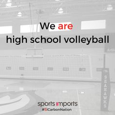We are high school volleyball! #volleyball #highschool