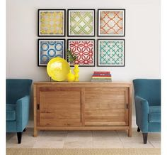 crate & barrel lithographs - easy to diy?