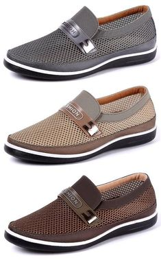 7860f714a2e4db US 31.87 Men Breathable Wear-resistant Soft Sole Slip On Casual Shoes shoes