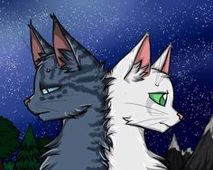 I will wait forever... Jayfeather and Halfmoon