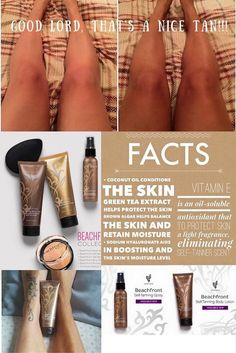 Younique Self Tanner Lotion and Spray! Don't get skin cancer this summer by tanning in the sun, use a self tanner ladies!! Promote healthy skin!