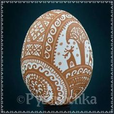 Ukrainian Pysanky Etched Pysanka Chicken Easter Egg   eBay