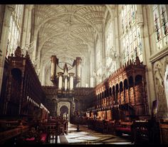 some amazing work done by David Lesperance looks like a library or church..
