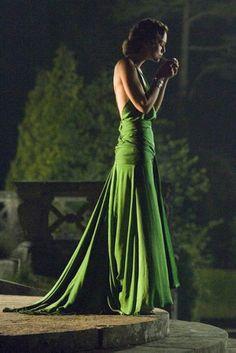 Keira Knightley, Atonement:  that green dress.
