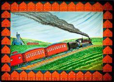 Train in Coal Town, Jack Savitsky, 1968