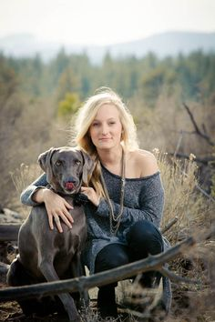 school senior pictures with dogs