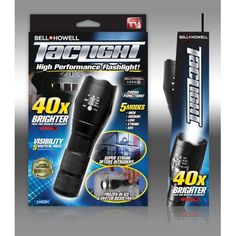 Bell + Howell Taclight High-Powered Tactical Flashlight with 5 Modes & Zoom Function - As Seen on TV - Walmart.com