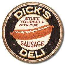 $19.97 Dicks Sausage Tin #Sign
