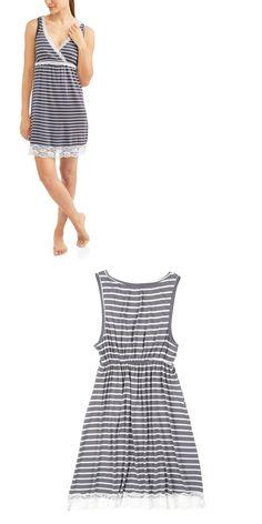 520b1027b6 Maternity and Nursing Sleeveless Polka Dot Sleepwear Chemise. Maternity and  Nursing Sleeveless Polka Dot Sleepwear Chemise.