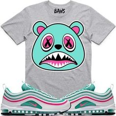 11700b84d23178 Baws T-Shirt SOUTH BEACH BAWS Sneaker Tees T-Shirts - Air Max 97