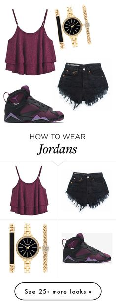 """"" by naebewittit on Polyvore featuring NIKE, Style & Co., women's clothing, women's fashion, women, female, woman, misses and juniors"
