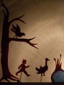 Acorn Pies: Make a Shadow Puppet Play!