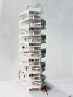 © LYCS architecture - writhing tower - lima, peru - 2012