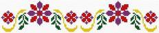 Pattern based on lubelski fashion (Lublin, lubelskie, folk, polish, border)