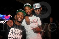 Chris Bosh, Dwyane Wade and LeBron James are NBA Champions. Miami Heat at LIV | World Red Eye