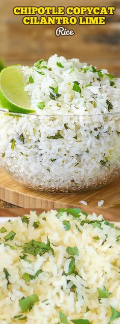 This Chipotle Copycat Cilantro Line Rice from Donna over at The Slow Roasted Italian is a super simple recipe that is sure to become a regular menu item in your house.