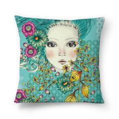 Compre Vesti Azul de @carolportoestudio em almofadas de alta qualidade. Incentive artistas independentes, encontre produtos exclusivos.