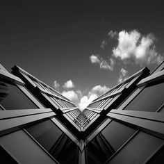 B & W Architecture Photography by Kevin Saint-Grey
