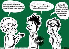 Sylwester na Majorce. Komiks z http://kuku.pl