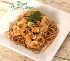 I Dig Pinterest: Elegant Broiled Shrimp