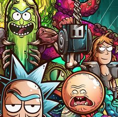 Rick and Morty Watch Cartoons, Adult Cartoons, Rick And Morty Poster, Get Schwifty, Movies To Watch Free, Illustrations And Posters, Pop Art, Animation, Cool Stuff