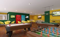 for when you have teenagers and you want to keep them close....a bigger game room.