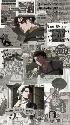 Anime Manga Boy Shingeki No Kyojin Wallpaper Animé, Wallpaper Fofos, Anime Wallpaper Phone, Anime Backgrounds Wallpapers, Animes Wallpapers, Cute Wallpapers, Anime Collage, Anime Shop, Attack On Titan Aesthetic