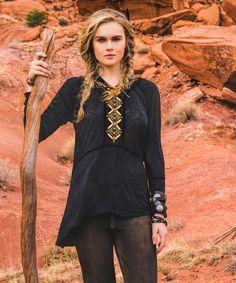 Tribal Necklace Top http://www.ddranchwearwomens.com/ fabulous cowgirl gear!!