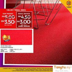 Hall Carpet Runners For Sale Key: 5427296537 Office Carpet, Office Floor, Dark Grey Carpet, Red Velvet, Ad Home, Carpet Sale, Hall Carpet, Free Classified Ads