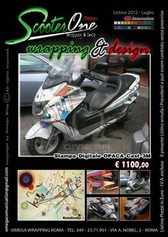 ScooterONE Wrapping and Design: Wrapping DESIGN