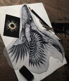 WEBSTA @ strange_dust - Sketch for new tattoo flash ! Available ! At @blackhorns_tattoostudio !Guest spots :Toulouse 5/10 décembre, Paris 16/21 janvier, Rouen 7/11 février, Nantes 4/8 Avril, Paris 30 Mai au 3 Juin...⚰BOOKING⚰strangedustbooking@gmail.com#blacktattoo #blackworkers #artshow #tattoodesign #flashaddicted #hybrid #btattooing #darkartists #darkart #blackwork #artwork #tattooflash #occultarcana #tattoo #blxckink #sketchart #blacktattoo #artsy #tattooer #tattooartist #tattoist #art…
