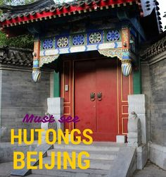 Going to travel to Beijing? Make sure to visit the hutongs. These little neighbourhoods are just amazing!