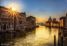 Canal of Gold by Vittorio Delli Ponti on 500px