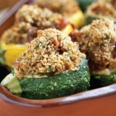 Summer squash explosion? Try my Provençal-style Stuffed Zucchini.