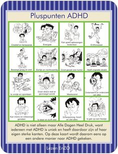 Pluspunten ADHD