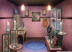Shopping, Background, Anime Background, Anime Scenery, Visual Novel Scenery…