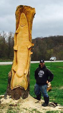 Wood Sculpture Chris Foltz